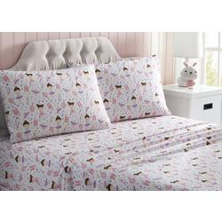 Kid's Ballerina Microfiber Sheet Set