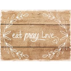 4-pk. Eat, Pray, Love Placemat Set