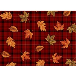 Morgan Home Fashions Fall Plaid 4-pk. Placemat Set