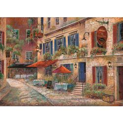 Morgan Home Fashions Cobblestone Cafe 4-pk. Placemat Set