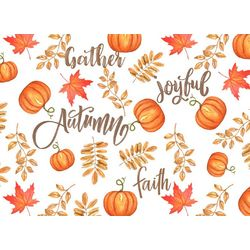 Morgan Home Joyful Autumn 4-pk. Placemat Set