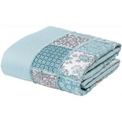 Morgan Home Fashions Giselle Floral Patchwork Quilt Set