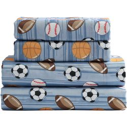 Morgan Home Sports Microfiber Sheet Set