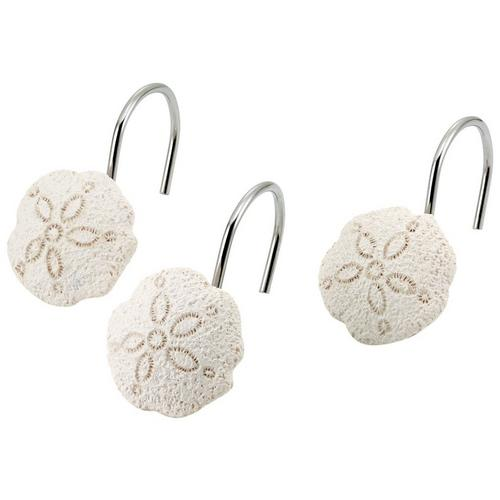 Avanti Seaglass 12 Pc Shower Curtain Hooks