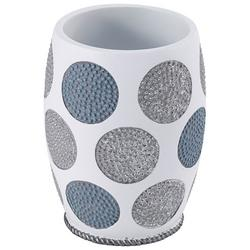 Dotted Circles Bathroom Tumbler