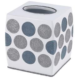 Dotted Circles Tissue Box Cover