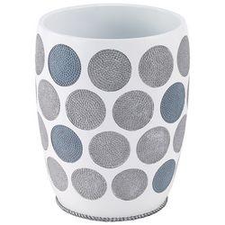 Avanti Dotted Circles Wastebasket