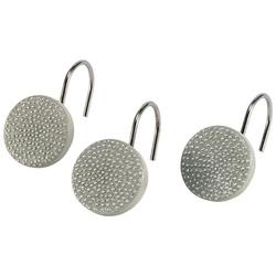 Dotted Circles 12-pc. Shower Curtain Hooks