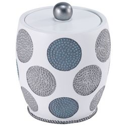 Avanti Dotted Circles Covered Jar
