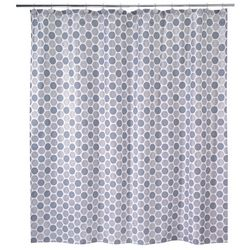 Avanti Dotted Circles Shower Curtain
