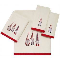Avanti Christmas Gnomes Towel Collection