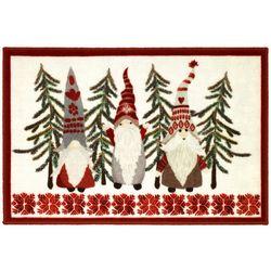 Avanti Christmas Gnomes Bath Rug