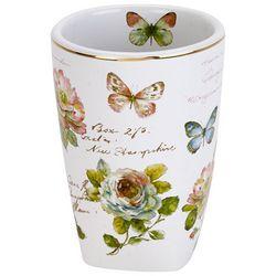 Avanti Butterfly Garden Bathroom Tumbler