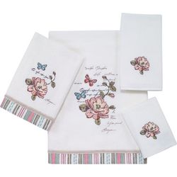 Avanti Butterfly Garden Towel Collection