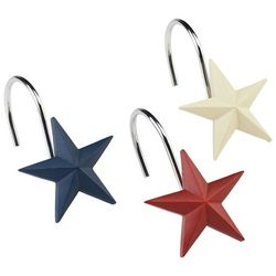 Avanti Texas Star 12-pc. Shower Hooks
