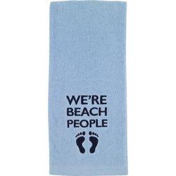 Avanti Beach Words Embroidered Kitchen Towel