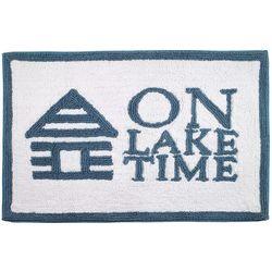 Avanti Lake Words Bath Rug