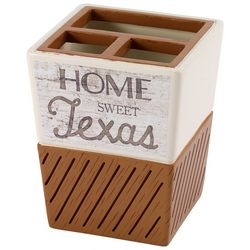 Avanti Home Sweet Texas Toothbrush Holder