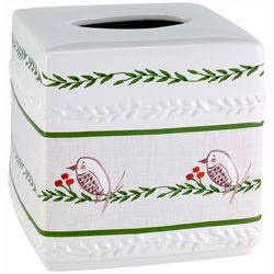 Dena Home Evergreen Tissue Box Cover