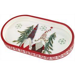 Avanti Christmas Gnomes Bathroom Tray