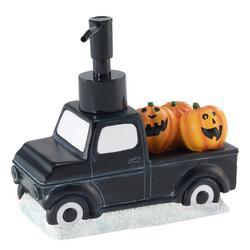 Black Truck With Pumpkins Pump Dispenser