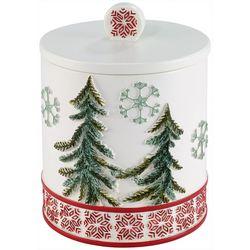 Avanti Christmas Gnomes Bathroom Jar