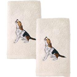 Avanti Beagle 2-pc. Hand Towel Set