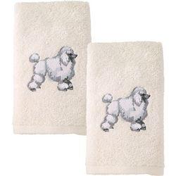 Avanti Poodle 2-pc. Hand Towel Set