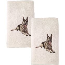Avanti German Shephard 2-pc. Hand Towel Set