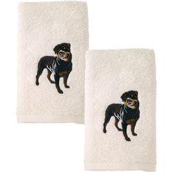 Avanti Rottweiler 2-pc. Hand Towel Set