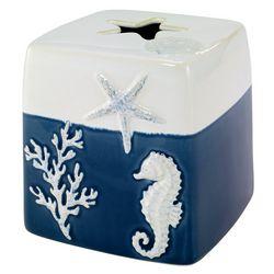 Avanti Batik Coastal Tissue Box Cover