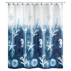 Avanti Batik Coastal Shower Curtain