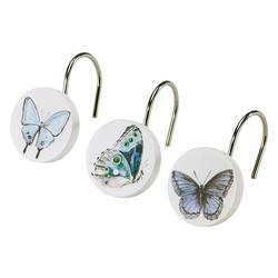 In The Garden 12-pc. Shower Curtain Hooks