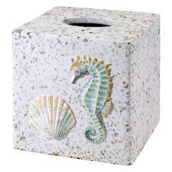 Coastal Terrazzo Tissue Box Cover