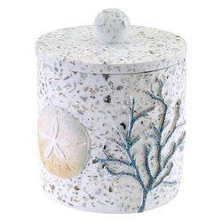 Avanti Coastal Terrazo Covered Jar