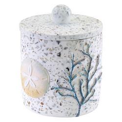 Coastal Terrazo Covered Jar