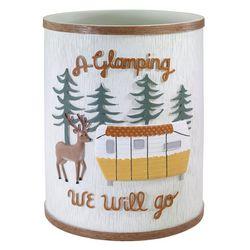Avanti Gone Glamping Wastebasket