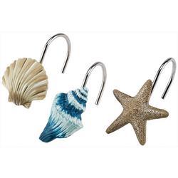 Blue Lagoon 12-pc. Shower Curtain Hooks