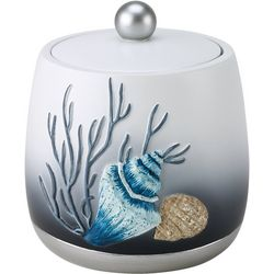Avanti Blue Lagoon Covered Bathroom Jar
