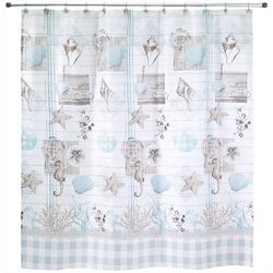 Avanti Farmhouse Shell Shower Curtain