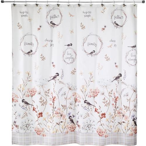 Avanti Live Simply Shower Curtain, Avanti Shower Curtain