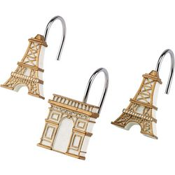 Avanti Paris Botanique 12-pc. Shower Curtain Hooks
