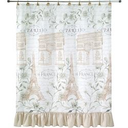 Avanti Paris Botanique Shower Curtain