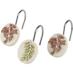 Avanti Serenity 12-pc. Shower Curtain Hooks