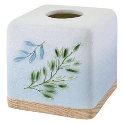 Ombre Leaves Tissue Box Cover
