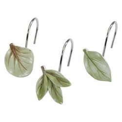 Avanti Ombre Leaves 12-pc. Shower Curtain Hooks