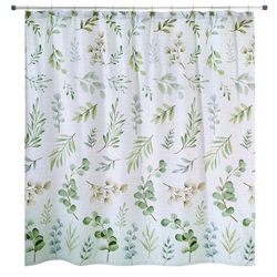 Avanti Ombre Leaves Shower Curtain