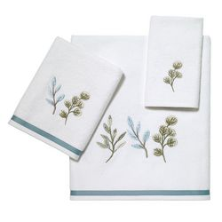 Avanti Ombre Leaves Towel Collection