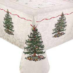 Avanti Spode Red Tree Tablecloth