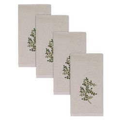 Avanti Greenwood Hemmed 4-pc. Fingertip Towel Set